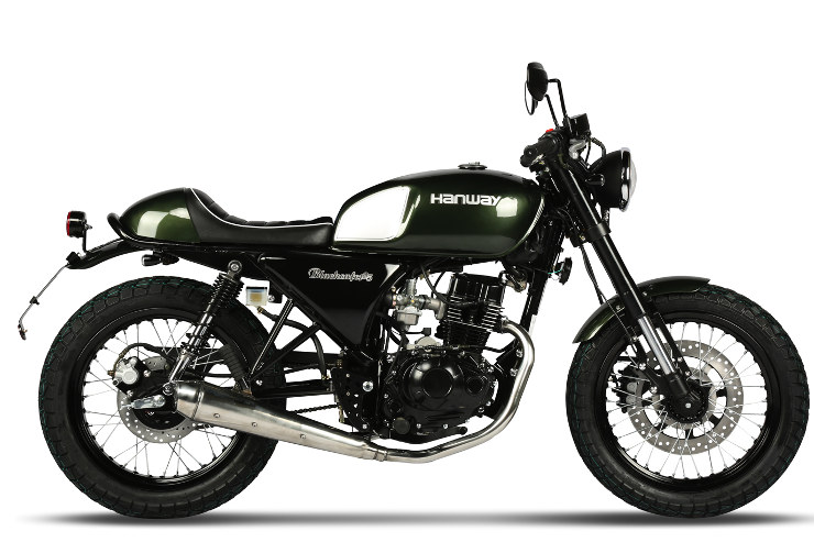 Hanway Cafe Racer Racing Green