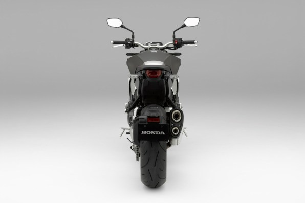Honda CB1000R Grey Rear