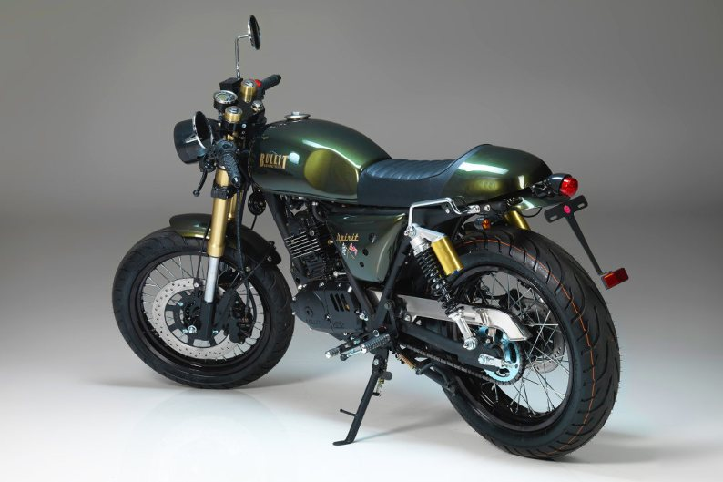 Bullit Motorcycles Spirit 125 - Left Rear