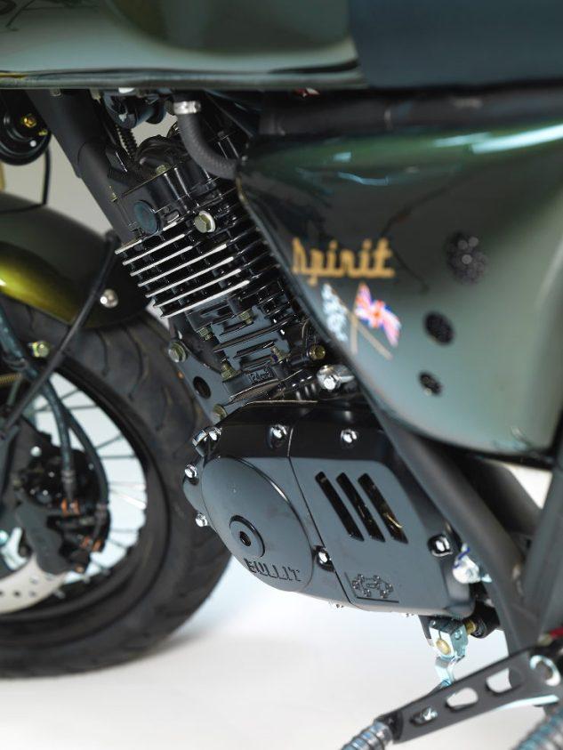 Bullit Motorcycles Spirit 125 - Suzuki GN125