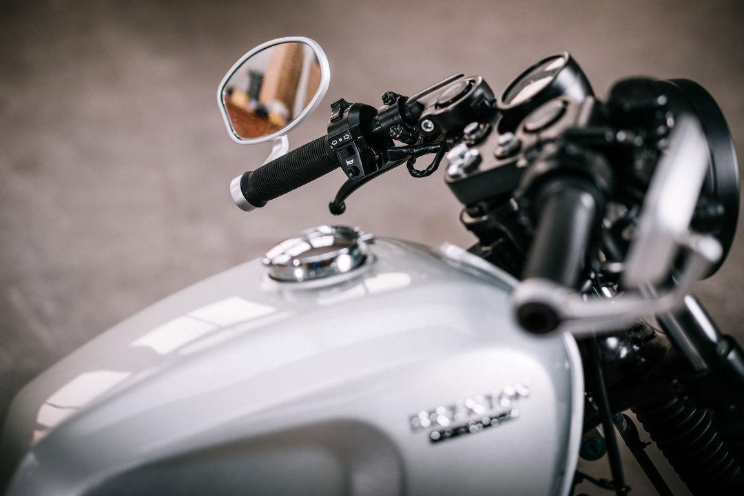Retro 125cc Brixton Motorcycles BX125R Fuel Tank