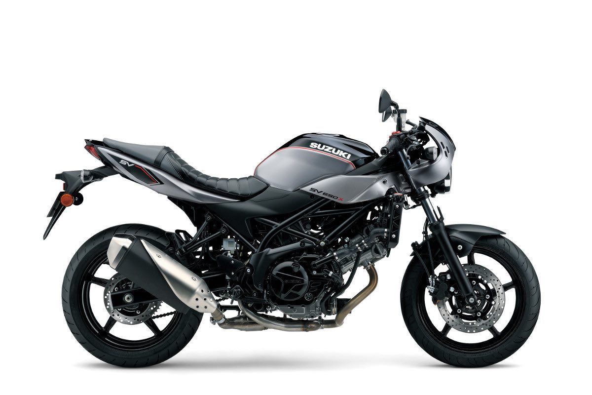 Suzuki SV650X Right-Side