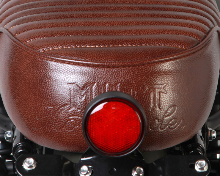 Mutt Motorcycles Hilts Green 125 Seat Taillight