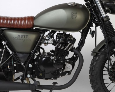 Mutt Motorcycles Hilts Green 125 Tank