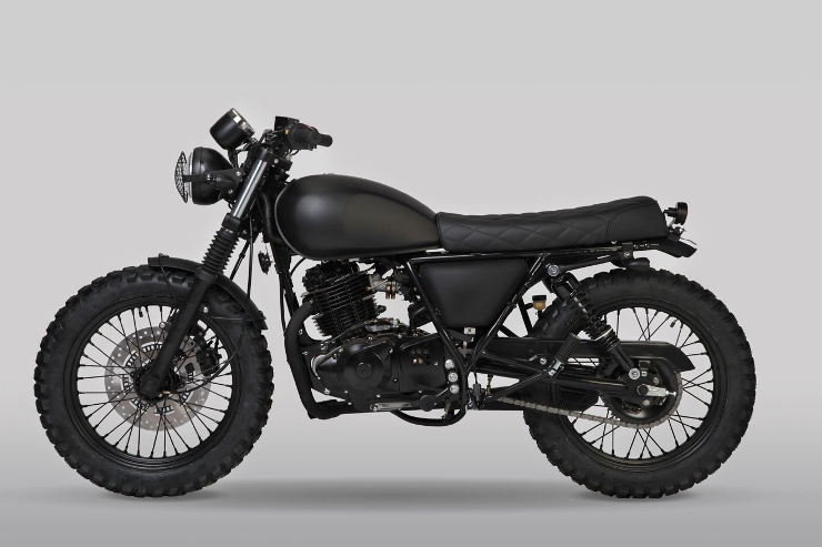 Mutt Motorcycles Sabbath Left