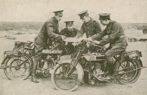 Ariel Dispatch Rider WW1