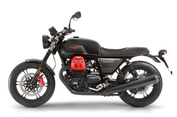 Moto Guzzi V7 MKIII Carbon 2018 [Left]