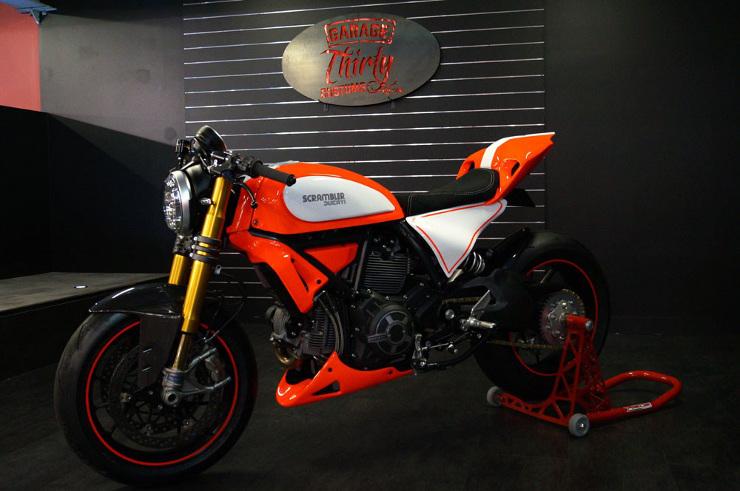 Ducati Scrambler Custom Scramblegale