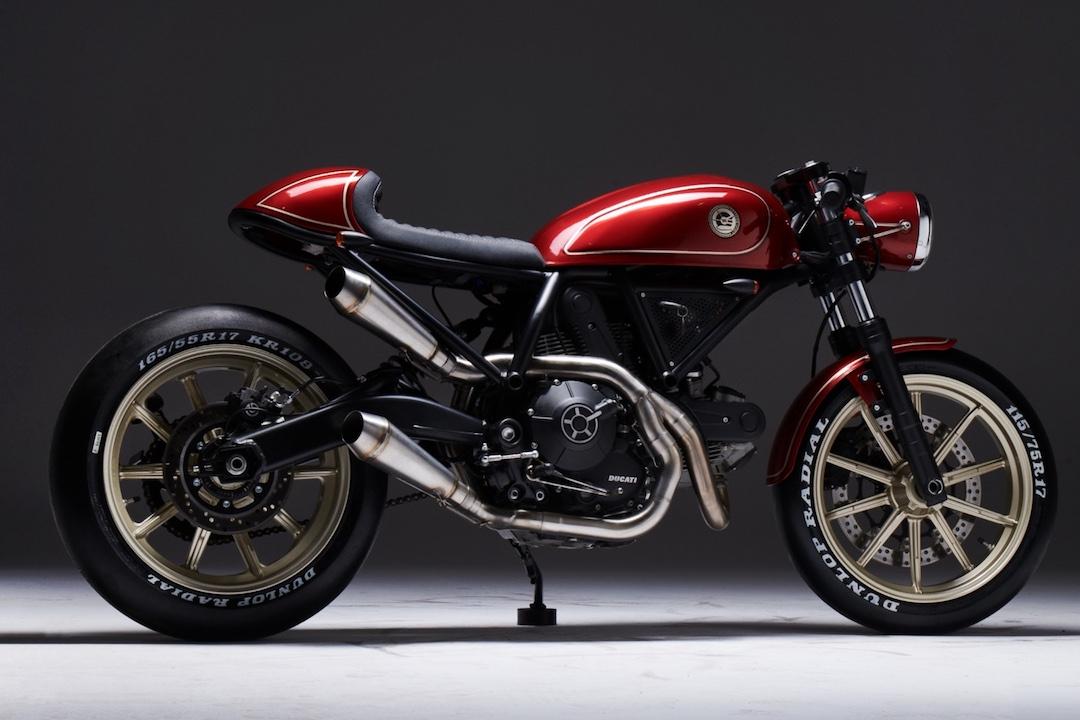 Sylwester Eastern Spirit GRUMBLE400 Ducati Scrambler Custom