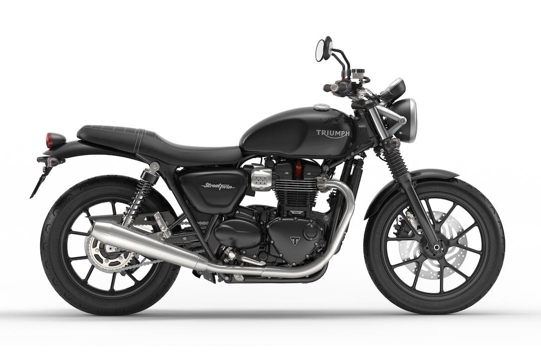 Triumph Motorcycles Street Twin Jet Black