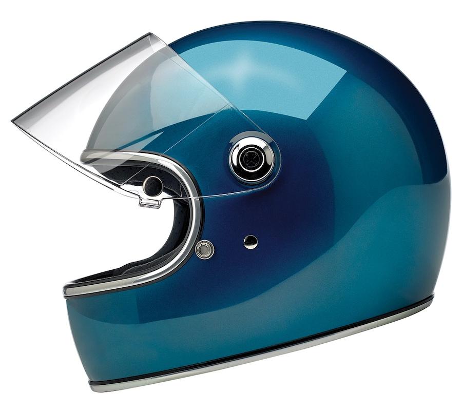 Biltwell Gringo S - ECE Approved Helmet Blue