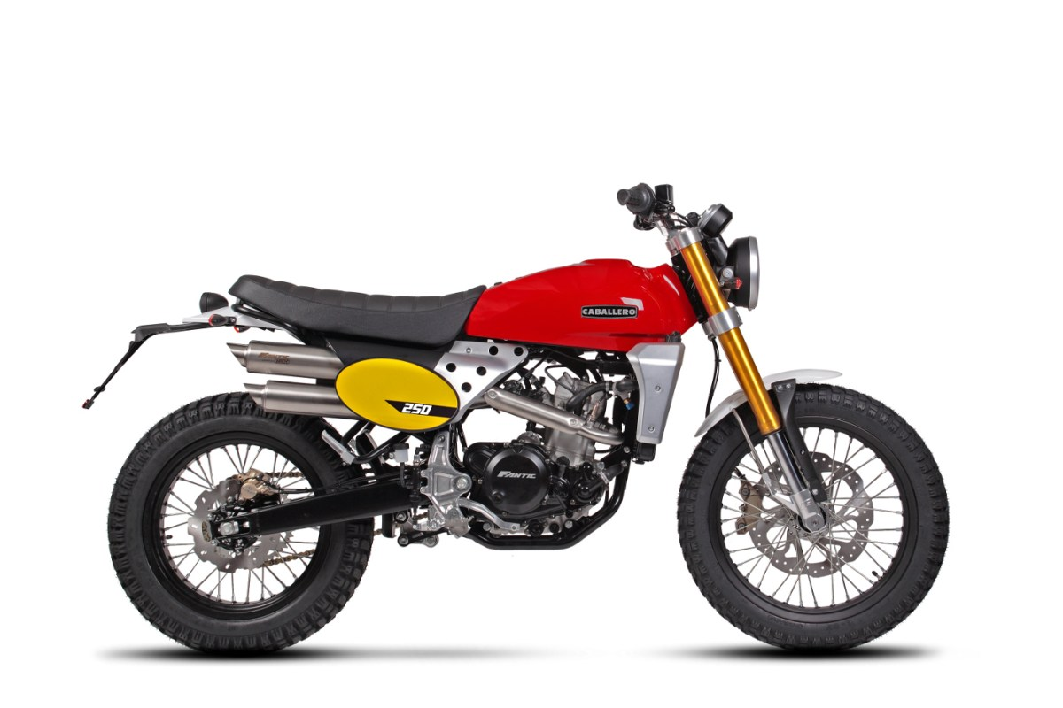 Caballero Scrambler 250 [right-side]