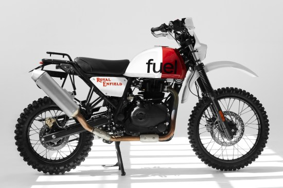 Fuel Motorcycles Royal Enfield Himalayan - right-side