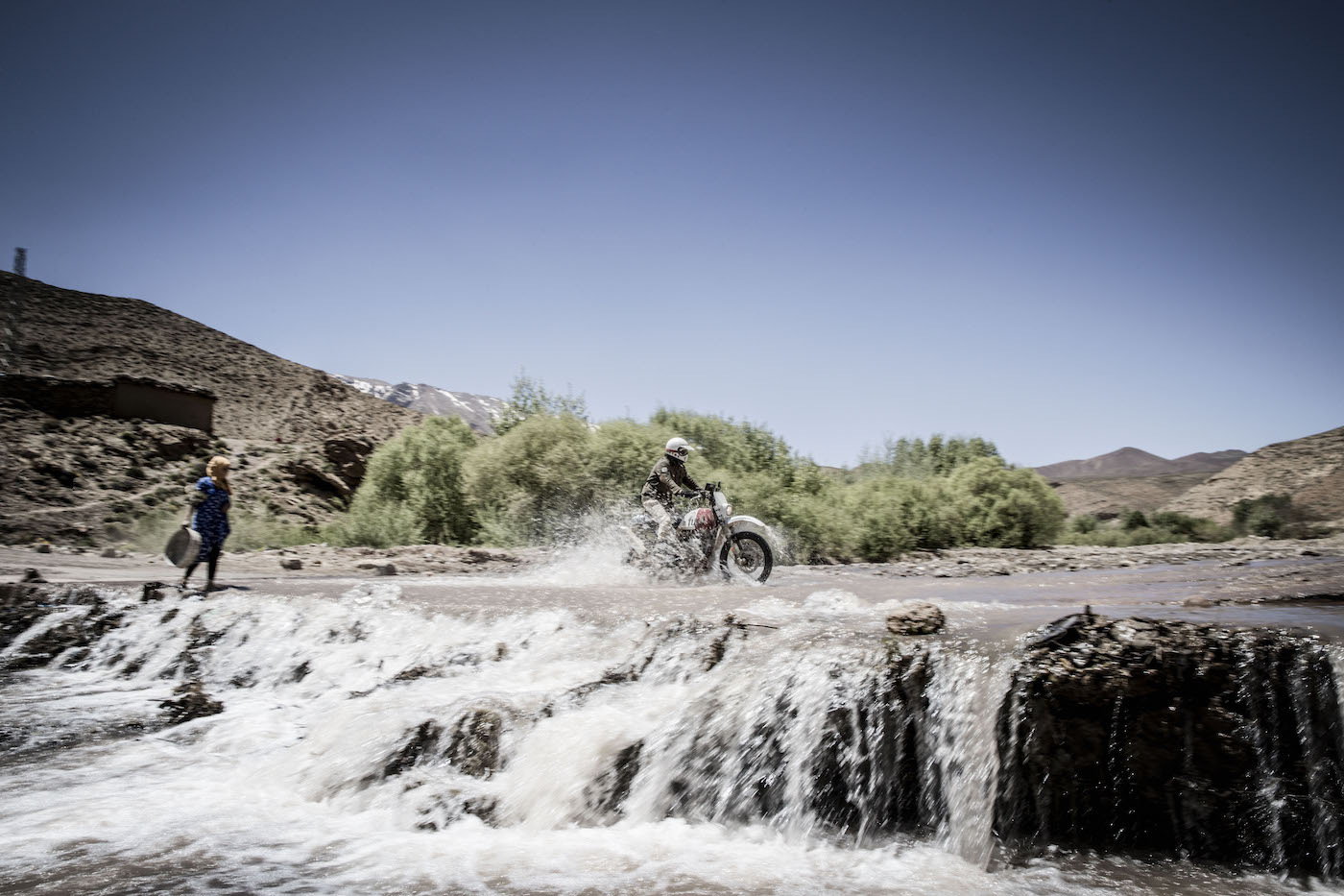 Scram Africa Custom Royal Enfield Himalayan - River Crossing