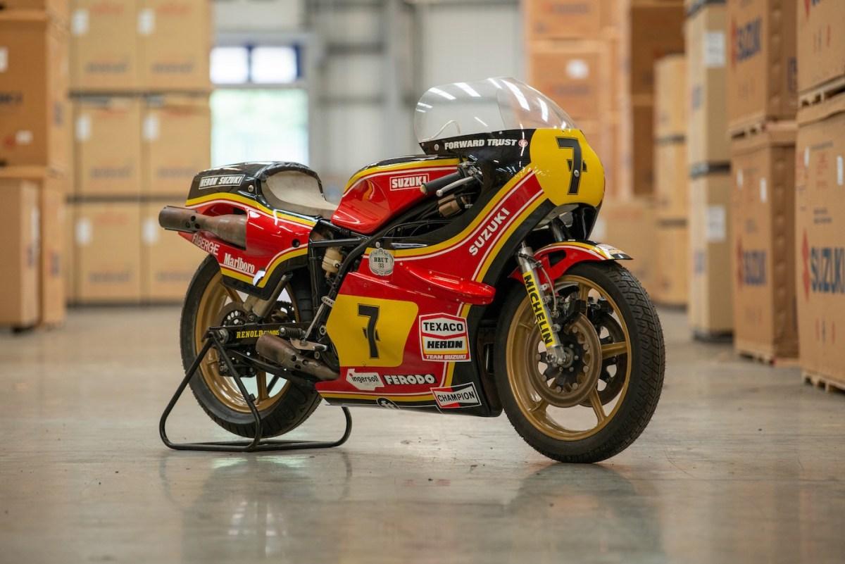 Barry Sheene Race Bike 1978 Suzuki XR27 RG500