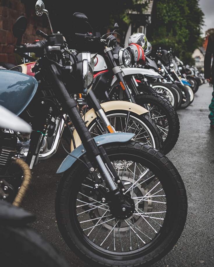 Distinguished Gentleman's Ride 2019 Chester Low Displacement Single