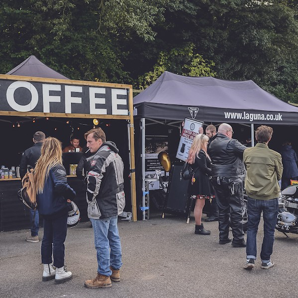 Coffee at The Bike Shed Festival 2019