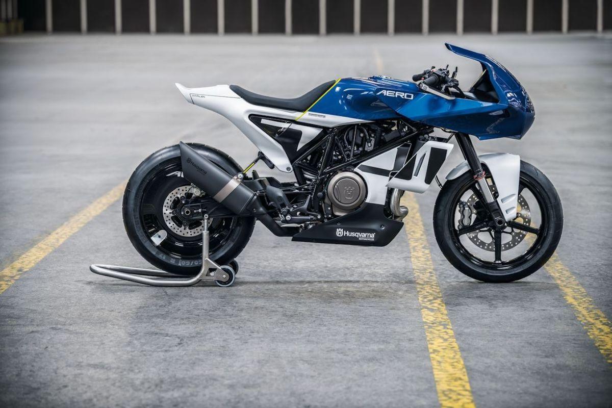 Right-hand side shot Vitpilen 701 Aero Concept