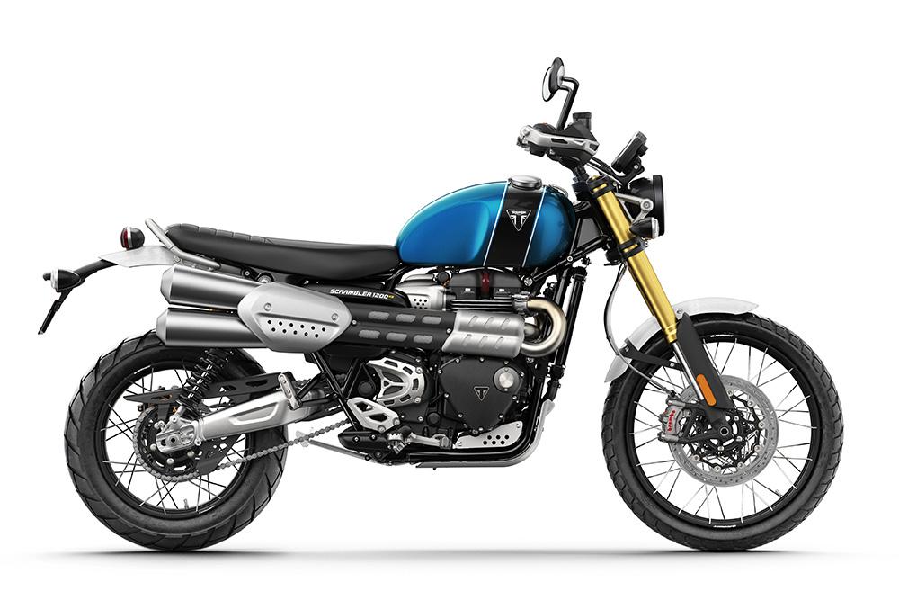 Blue Scrambler 1200 XE RHS