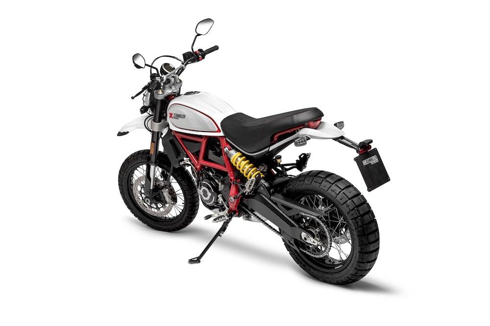 Ducati Scrambler Desert Sled rear right