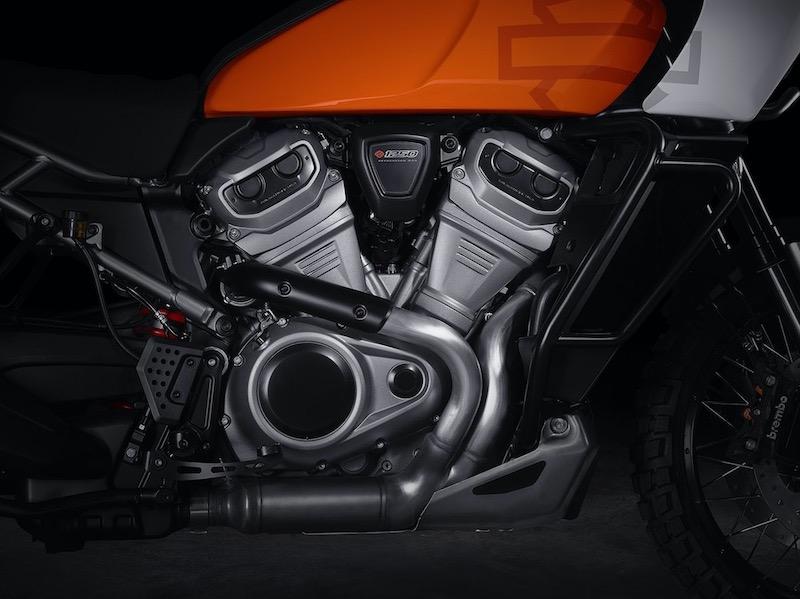 Harley-Davidson Pan American V-twin Engine detail