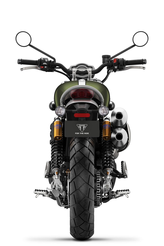 Scrambler 1200 XC Green Rear