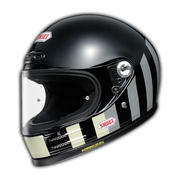 Shoei Glamster Retro Helmet Black