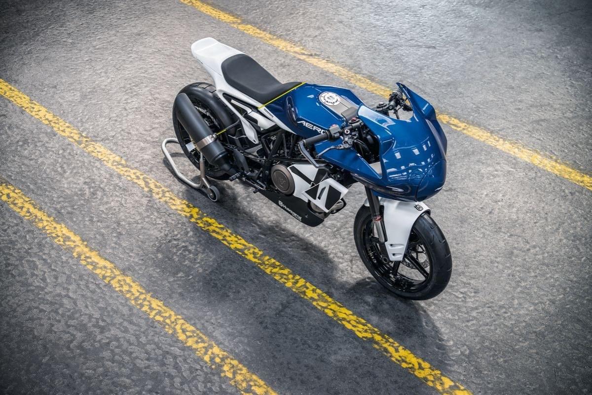 Vitpilen 701 Aero Concept Front Top