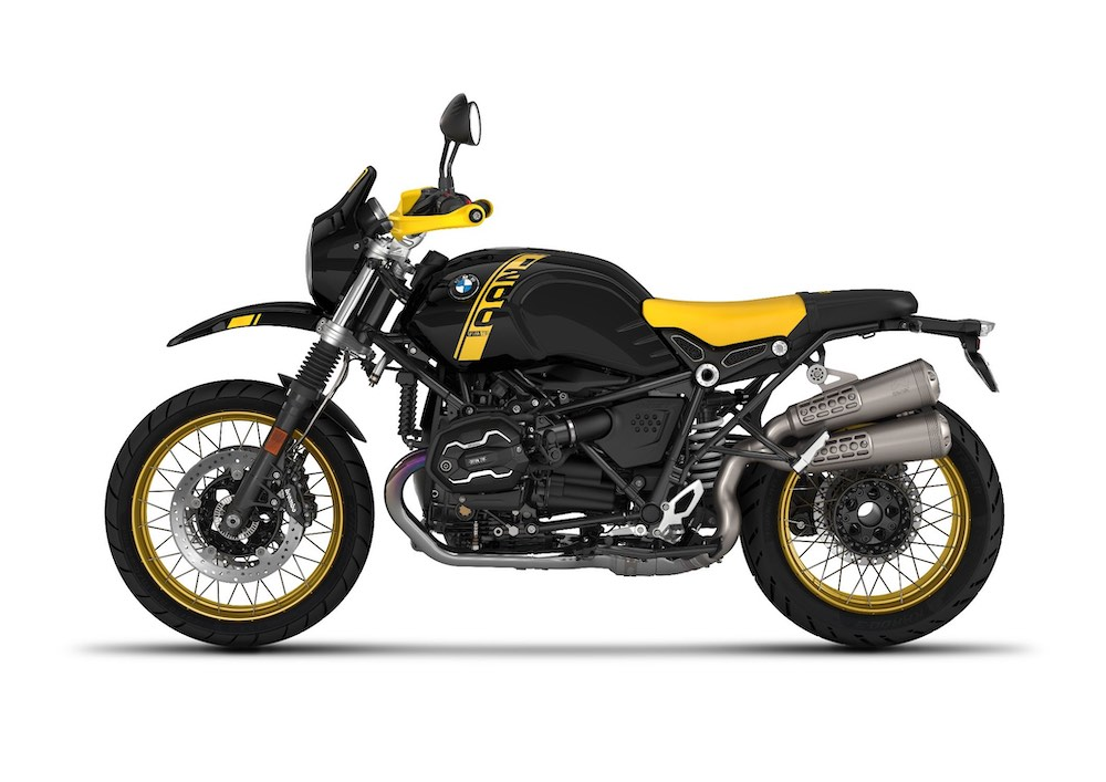 2021 BMW R nineT Urban GS cockpit and tank