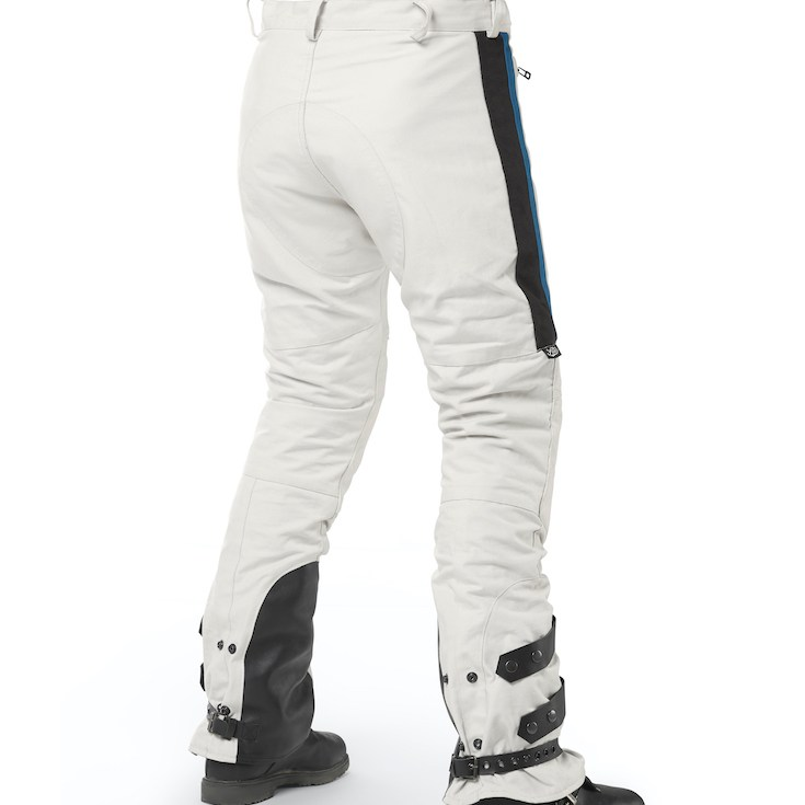 Fuel Rally Raid Trousers Pants White back