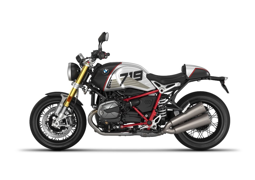 2021 BMW R nineT Option 719 Night black matt:Aluminium matt