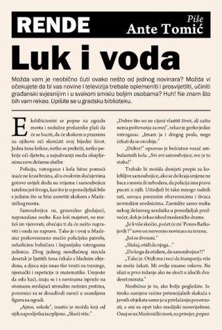 Luk i voda - Ante Tomić | Rende