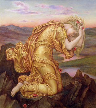Evelyn De Morgan - Demeter Mourning for Persephone