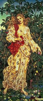 Evelyn De Morgan - Flora