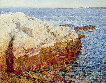 Childe Hassam - Cliff Rock Appledore
