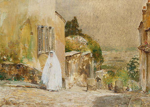 Childe Hassam - Spring Morning at Montmartre