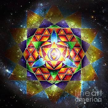 Galactic Spiritual Geometry No. 4 by Olivia Tatara