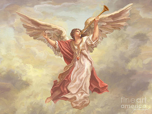 Angels Trumpet Paintings | Fine Art America