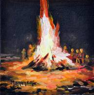 Image result for Bonfire of the Celts painting