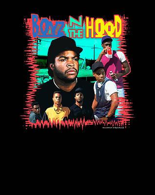 boyz n the hood wall art pixels