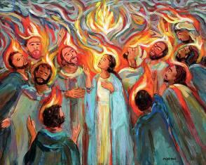 Pentecost Paintings | Fine Art America