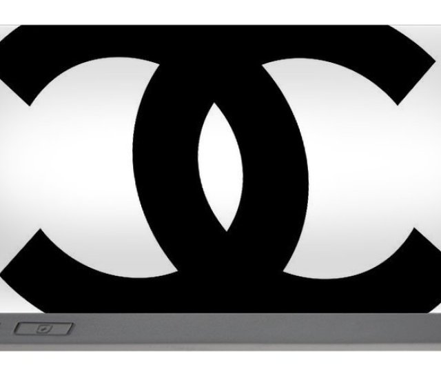 Chanel Portable Battery Charger Featuring The Digital Art Chanel Symbol White Black By Voros Edit