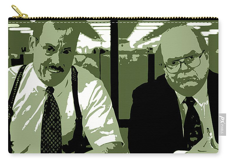 office space the bobs bob slydell and bob porter movie quote poster series 008 carry all pouch