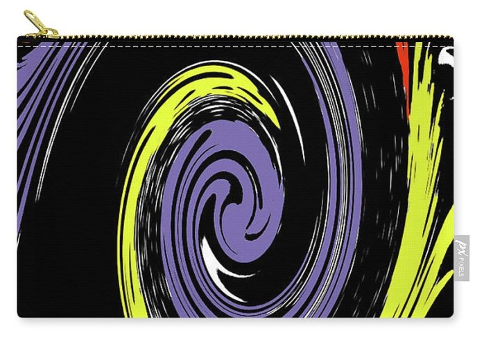 Abstract Carry-all Pouch featuring the photograph Colorful Swirl by Holly Morris