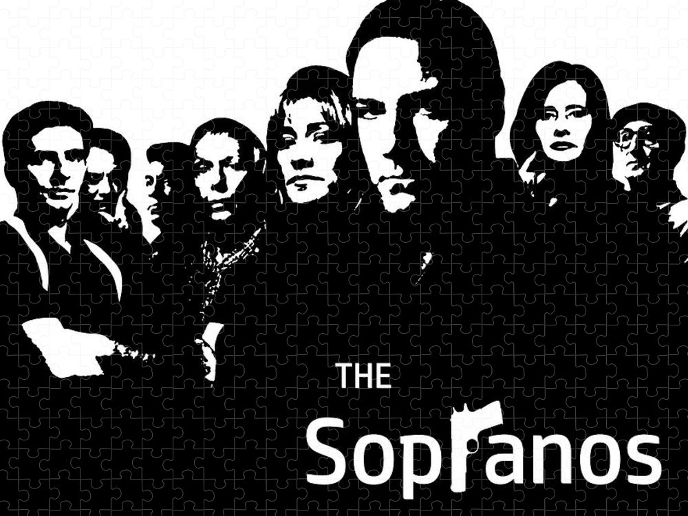 the sopranos poster puzzle