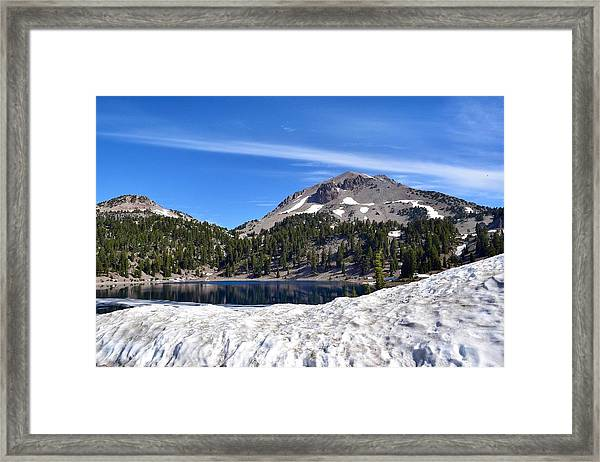 Lassen Volcanic National Park Framed Print featuring the photograph Lassen Volcanic National Park by Maria Jansson
