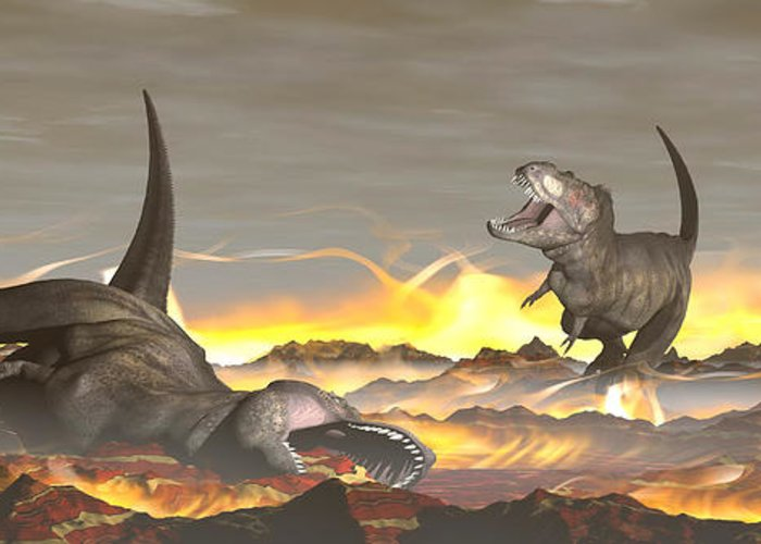 Image result for dinosaurs dying