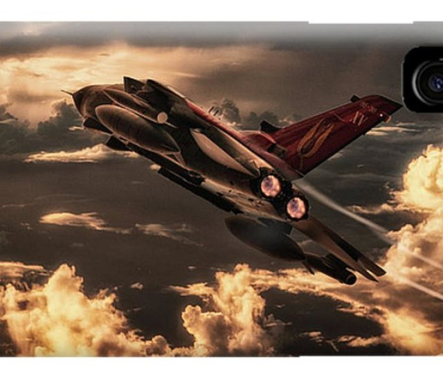 Tornado Iphone X Xs Case Featuring The Digital Art Farewell Xv Squadron By J Biggadike