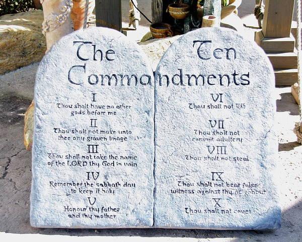 10 commandments of god # 42