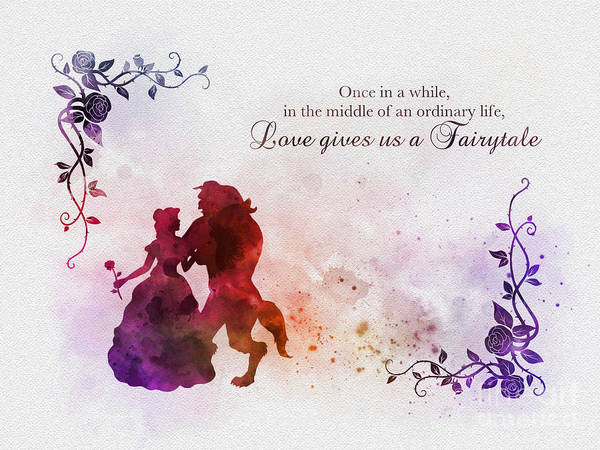 love gives us a fairytale poster